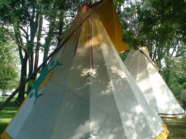 Native American tent